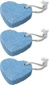 "<b>Пемза</b> для педикюра 3 штуки ,""<b>Сердечки</b>"" ,голубые — купить в ..."
