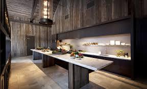 modern rustic kitchen island