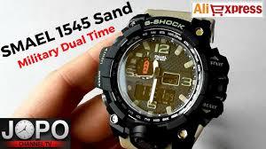<b>SMAEL</b> Military Dual Time <b>Watch</b> - Army Sand Sport <b>Watch</b> ...