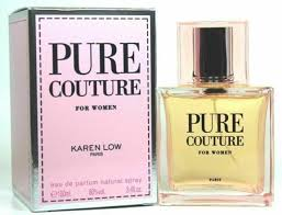 <b>PURE COUTURE</b> By <b>KAREN LOW</b> 3.4 OZ EDP Spray *PERFUME ...