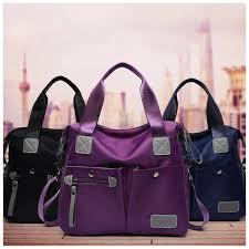 <b>Large</b> Capacity Messenger <b>Bag</b> Women's <b>Waterproof Nylon</b> ...