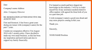 formal resignation letter one month notice resume samples formal resignation letter one month notice formal letter sample template layout one month notice period formal