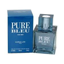 <b>Pure Bleu</b> By <b>Karen Low</b> Eau De Toilette 3.4 oz / 100 ml Spray For ...