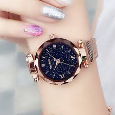 Luxury <b>Women Watches Magnetic</b> Starry Sky <b>Female</b> Clock Quartz ...