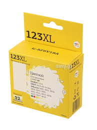 <b>Картридж T2</b> (аналог HP F6V18A №123XL) <b>Multicolor для</b> HP ...