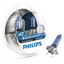 <b>Лампа</b> галогенная <b>PHILIPS</b> H7 <b>Diamond</b> Vision 5000K 12V 55W, 2 ...