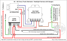 ray s chevy restoration site gauges in a chevy truck i do not have that page ready to upload yet but in the meantime here are some of the new diagrams i have drawn that show the gauge wiring