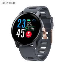 SENBONO S08 <b>Bluetooth Sport Smart</b> watch IP68 waterproof Clock ...