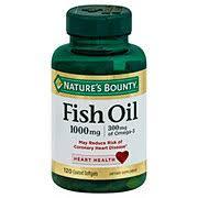 <b>Nature's</b> Bounty Fish Oil 1000 mg <b>Omega</b>‑<b>3 Odorless</b> Softgels ...