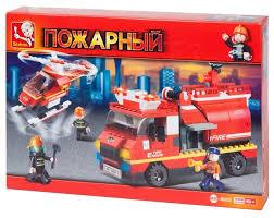 <b>Конструктор SLUBAN Пожарные спасатели</b> M38-B0222 — купить ...