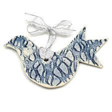 Whimsical <b>Birds</b> Ceramic <b>Ornament</b> Set — SEEDs for Autism