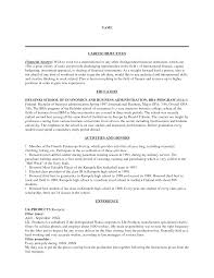 resume objective sample for management cipanewsletter how to write career objective sample samplebusinessresume