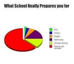 What School really prepares you for | lifepopper.com via Relatably.com