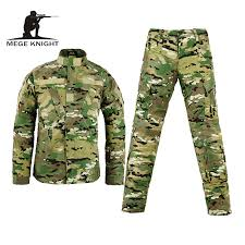 military tactical uniform waterproof hunting camping climbing hiking sports jacket pants men combat training suits