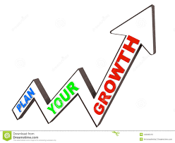planned growth stock illustration image  planned growth
