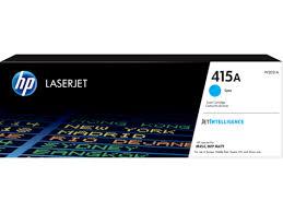 Оригинальный лазерный <b>картридж HP LaserJet 415A</b>, голубой ...