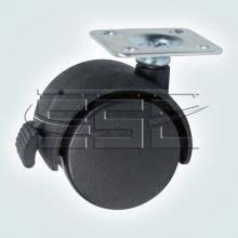 <b>Колесо поворотное на площадке</b>, с тормозом SSC-P-402 | SSC