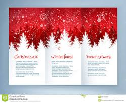 christmas leaflet design template stock vector image 63219476 red and white christmas leaflet design stock images