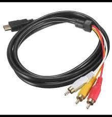 Кабель HDMI-RCA(колокольчики) – купить в Архангельске, цена ...