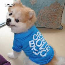 <b>Born To</b> Be Loved <b>Letter</b> Summer Short Sleeve Pet <b>T-Shirt</b> | Shopee ...