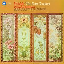 Album <b>Vivaldi</b>: The Four Seasons par <b>Itzhak Perlman</b> | QUB musique