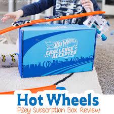 <b>Hot</b> Wheels <b>Challenge Accepted</b> Pley Box Review - Munchkins and ...