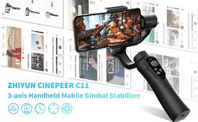 3-Axis Gimbal Stabilizer for Smartphone, Powered by <b>ZHIYUN</b> ...