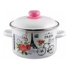 <b>Кастрюля эмалированная</b> Appetite <b>2.0 л</b> Париж (1RD161M ...
