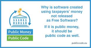 Todas las firmas públicas - Public Money, Public Code