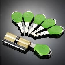 NEW Anti-theft Door Lock <b>C Grade Copper</b> Locking Cylinder ...