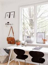 at home office window chic home office