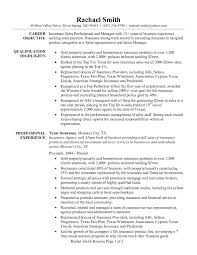 insurance s professional and manager resume sample eager world it