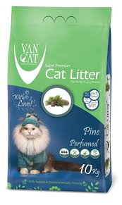 <b>Наполнитель</b> комкующийся для кошек <b>Van Cat Pine</b> без пыли с ...