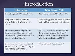 John Stuart Mill  Author of On Liberty