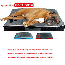 <b>Dog Bed Cushion</b> for Large Dog Oxford Cloth Puppy Breathable ...