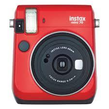Фотокамера <b>моментальной печати FUJIFILM</b> Instax Mini 70 Red ...