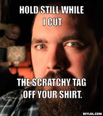 Do you cut the tags out of your shirts? via Relatably.com