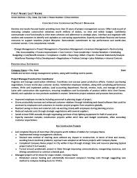 construction coordinator or project manager resume template    construction coordinator or project manager resume