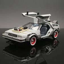 <b>Welly 1/24</b> Delorean diecast car model in <b>movie</b> Back to Future 3 III ...