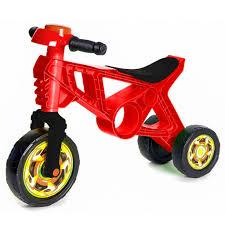 <b>Каталка</b>-<b>беговел RT</b> Самоделкин 3 колеса с клаксоном красная ...
