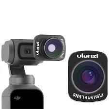 Купить <b>Объектив Ulanzi</b> OP-8 <b>Fisheye Lens</b> для Osmo Pocket