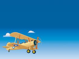 blue aeroplane wallpaper