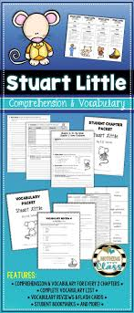 best ideas about stuart little mouse crafts stuart little comprehension and vocabulary by chapter