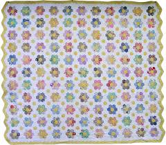 Image result for grandmother's flower garden quilt