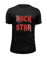 "<b>Футболка</b> Wearcraft Premium Slim Fit ""<b>ROCK STAR</b>"" #2665616 от ..."