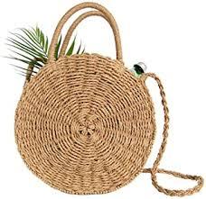 Straw - Shoulder Bags / Handbags & Wallets: Clothing ... - Amazon.com