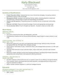 writer resume sample resume qualifications examples  business    job qualifications resume examples  summary