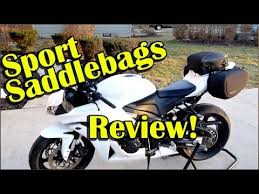 Nelson-Rigg <b>Sport SaddleBags</b> Review - UV2000 Half Cover ...