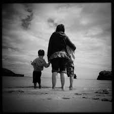 re ing childhood memories  photo essay the memories of sunny days spent sitting on the beach  always in the same place  next to the same people  we played in the rock pools and paddled in the sea