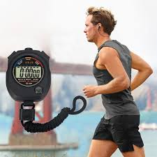 Hot! <b>Waterproof Digital LCD</b> Stopwatch Chronograph Timer Counter ...